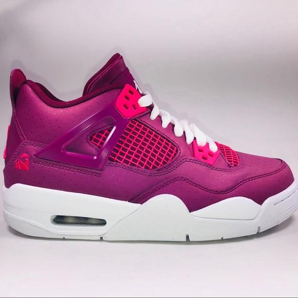 Air Jordan 4 Retro Gs True Berry